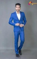 Blue Color Men's Formal Suit