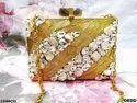 Beautiful & Designer Brass Clutch