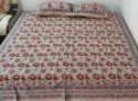 Floral Printed Double Bedsheets