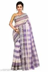 Printed Blue Alisha Alluring Sarees, Without Blouse Piece, 5.5 m (Separate Blouse Piece)