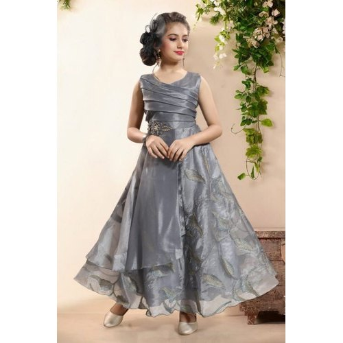 8940a20321e64 Party Wear Kids Girl Fashionable Gown, Rs 500 /piece, Goyal Brothers ...