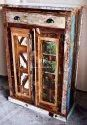 Resort Furniture Sideboard - Reclaimed Wood Cabinet - Vintage Hotel Furniture - Vintage Racks