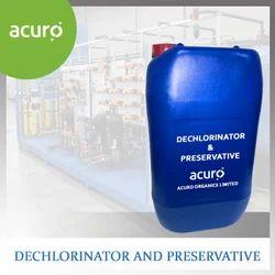 Dechlorinator and Preservative