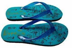 BreeZy Multicolor Men''s Blue Flip Flop, Size: 6 To 9