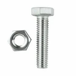 Stainless Steel Hex Nut & Bolt