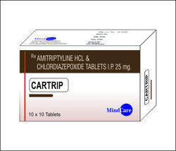 Amitryptyline HCL 10/25/75 Mg  Tablets