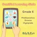 Class 6 Mathematics, Science And Olympiads - Gamified Learning Slate