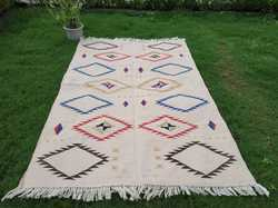 Cotton Rug, Indoor Rug, Area Rug, Home Rug, Customised Rug