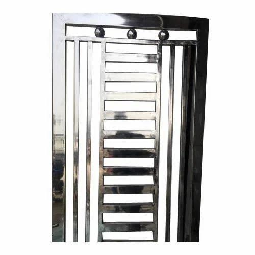Attirant Stainless Steel Main Door