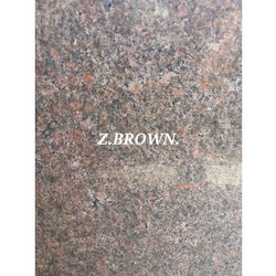 Slab Flamed Z Brown Granite, for Flooring, Thickness: 15-20 mm