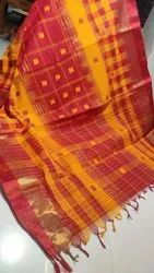 Bengal Pure Cotton Buti Tant Saree