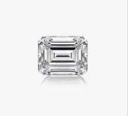 Emerald Diamond 4.61ct F VS1 CVD TYPE2A IGI Certified