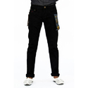 Men's Stylish Black Casual Jeans