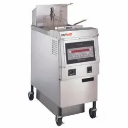 Gas Deep Fryer With Oil Filter