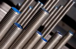 Polished Threaded Bars, Round, Size: Various