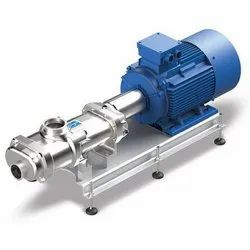 Hygienic twin screw pumps