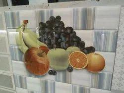 Fruit Printed Tiles