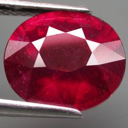 Natural Ruby Stone Lab Certified