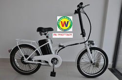 Battery Operated Bicycle