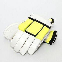 White and Yellow Cricket Batting Glove