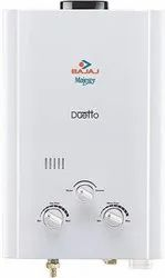 Bajaj 6 L Gas Geyser (Majesty Duetto, White)