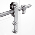 Stainless Steel Polished Glass Door Fitting
