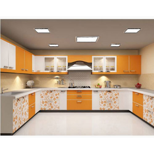 U Shaped Modular Kitchen At Rs 1400 /square Feet