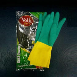 Unisex M Volk Plus Industrial Rubber Hand Gloves, for Electrical protection