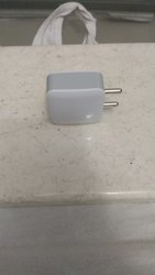 White Electric Mobile Charger Adapter