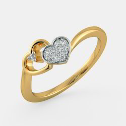 Diamond Gold Ring Jewelry