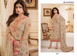 Aashirwad Alisha Series 8071-8076 Stylish Party Wear Georgette Suit
