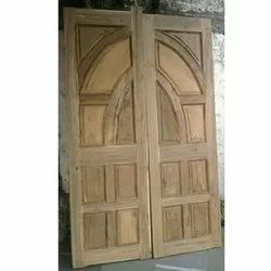 Teak Wood Double Door, For Home,Office etc
