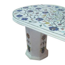 Designer Marble Inlay Table Top