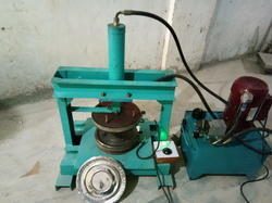 Semi Automatic Paper Thali Making Machine