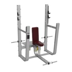 Gym Olympic Seated Press Bench