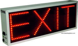 Emergency Exit Red LED Light