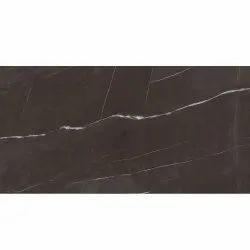 Brown Glossy Nitco 800 x 1600 mm Basque Grey Glazed Vitrified Tile, Thickness: 7.00 mm