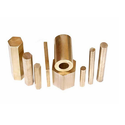 Forging Brass Rods, Material Grade Bs:218, Bs2874, Cz122