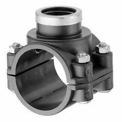 PVC Saddle - 76 mm