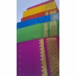 Party Wear Pattu Silk Saree, Packaging Type: Packet, 5.5 m (separate blouse piece)