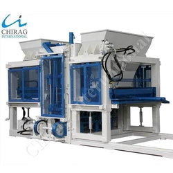 Fully Automatic Interlocking Brick Machine