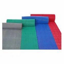 National Traders Rectangular Plain PVC Carpet