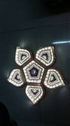Flower Shape Lighting Rangoli