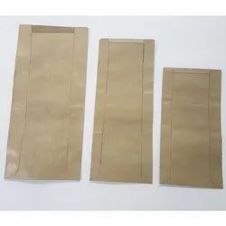 Ajay Kumar & Co. Brown Waterproof Seed Envelope, Rectangle, for Agricultural Research