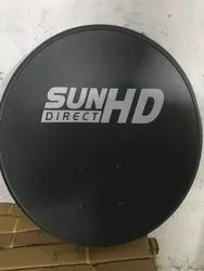 Sun Direct Dish Antenna With Fitting Accessories