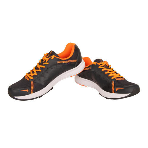 7bcb7bd05dca Men Black With Orange Design Nivia Running Shoes