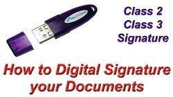 Service B-tax Advisors DIGITAL SIGNATURE, DIGITAL SIGNATURE Creation, Authentication