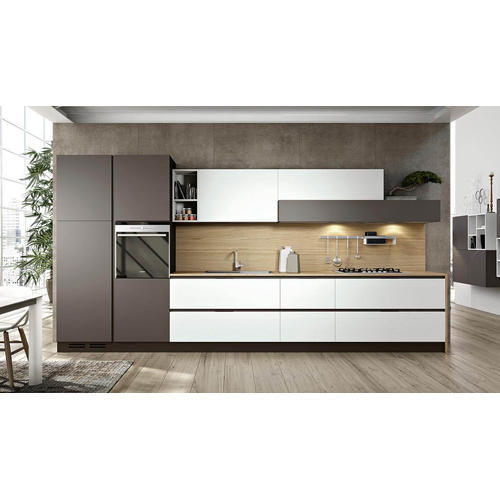 Stainless Steel Modular Linear Kitchen At Rs 1100000 /unit