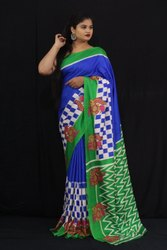Women Chanderi Silk Saree