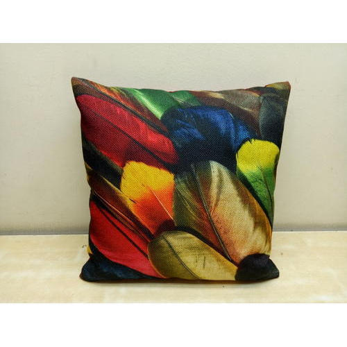 Polyester Printed Cushion Cover Size